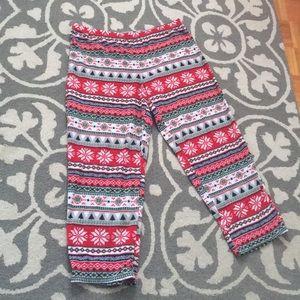 Sonoma Fleece Christmas Pajama pants